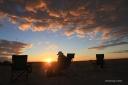 Sunset next to Mosu - 2013